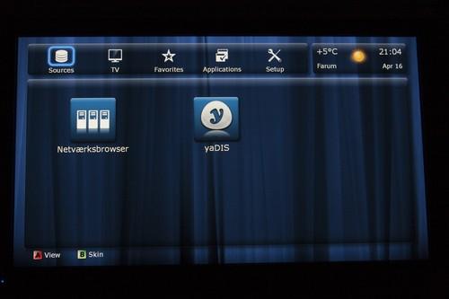 Dune HD TV interface