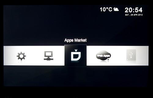 Popbox V8 interface