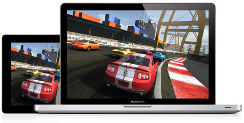 AirPlay Mirroring vil tale sammen med Game Center