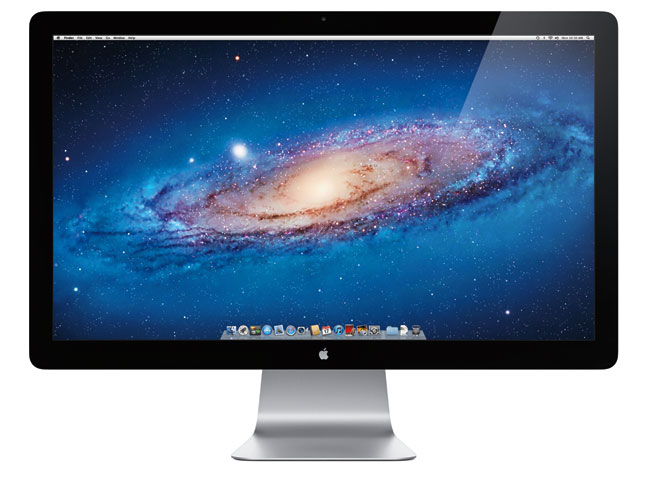 "Apple 27"" LED Cinema Display med Thunderbolt"