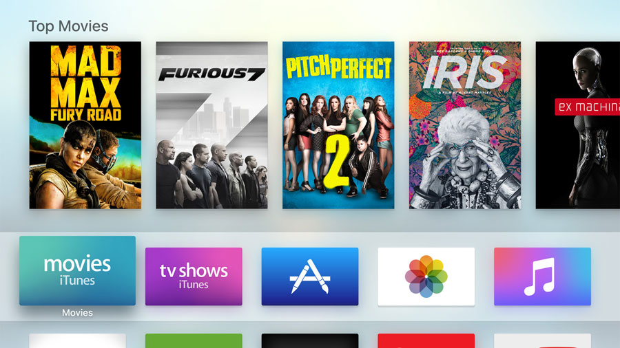 Ny Apple TV
