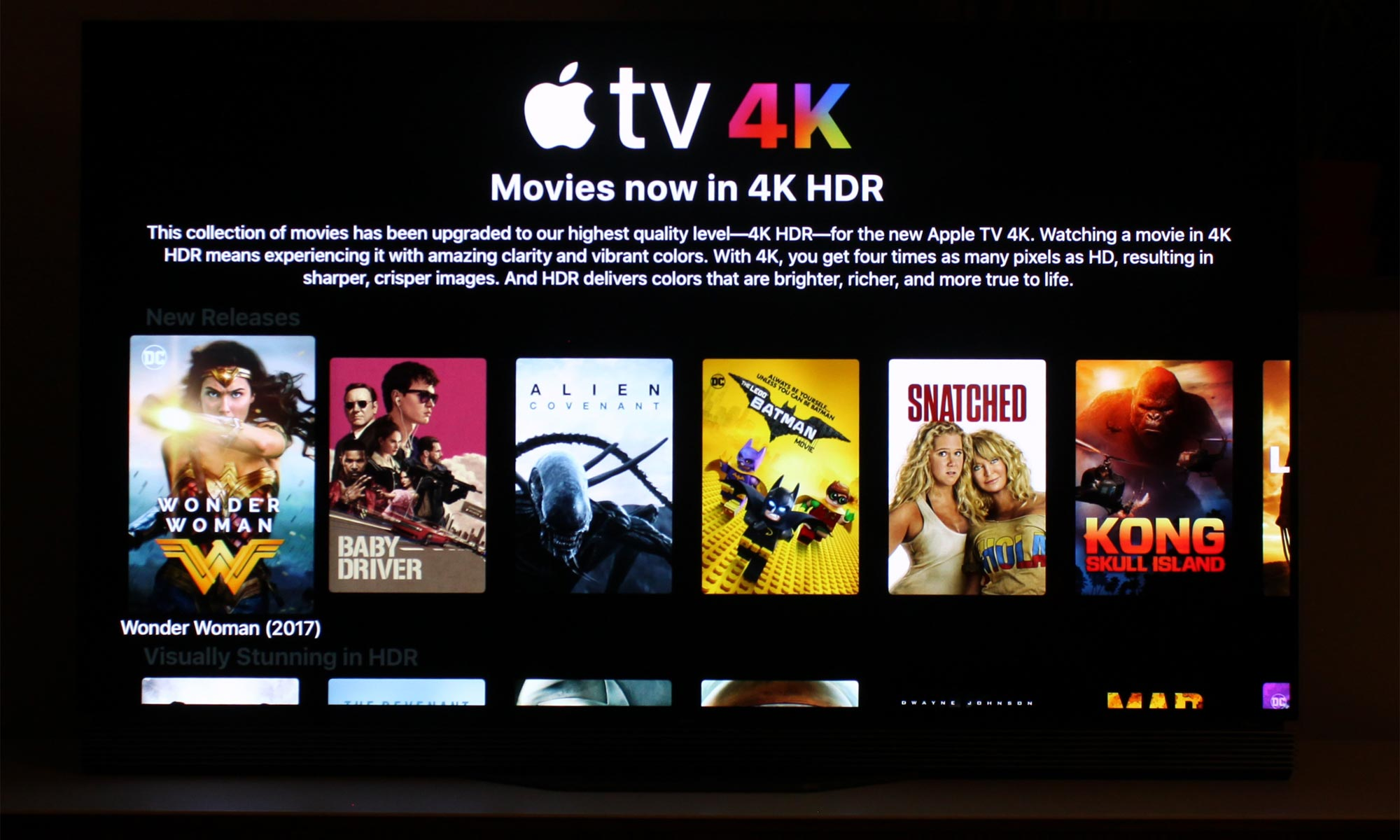 Apple TV 4K test