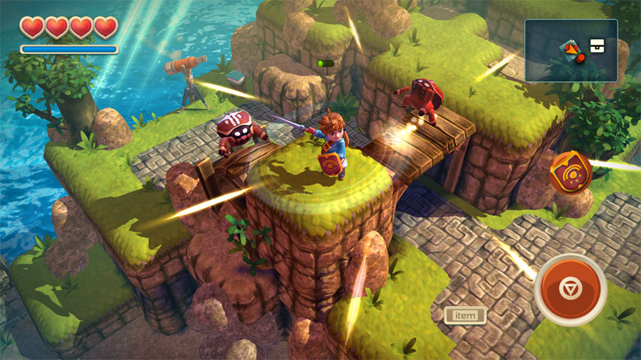 Oceanhorn på Apple TV