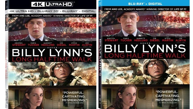 Billy Lynn UHD Blu-ray