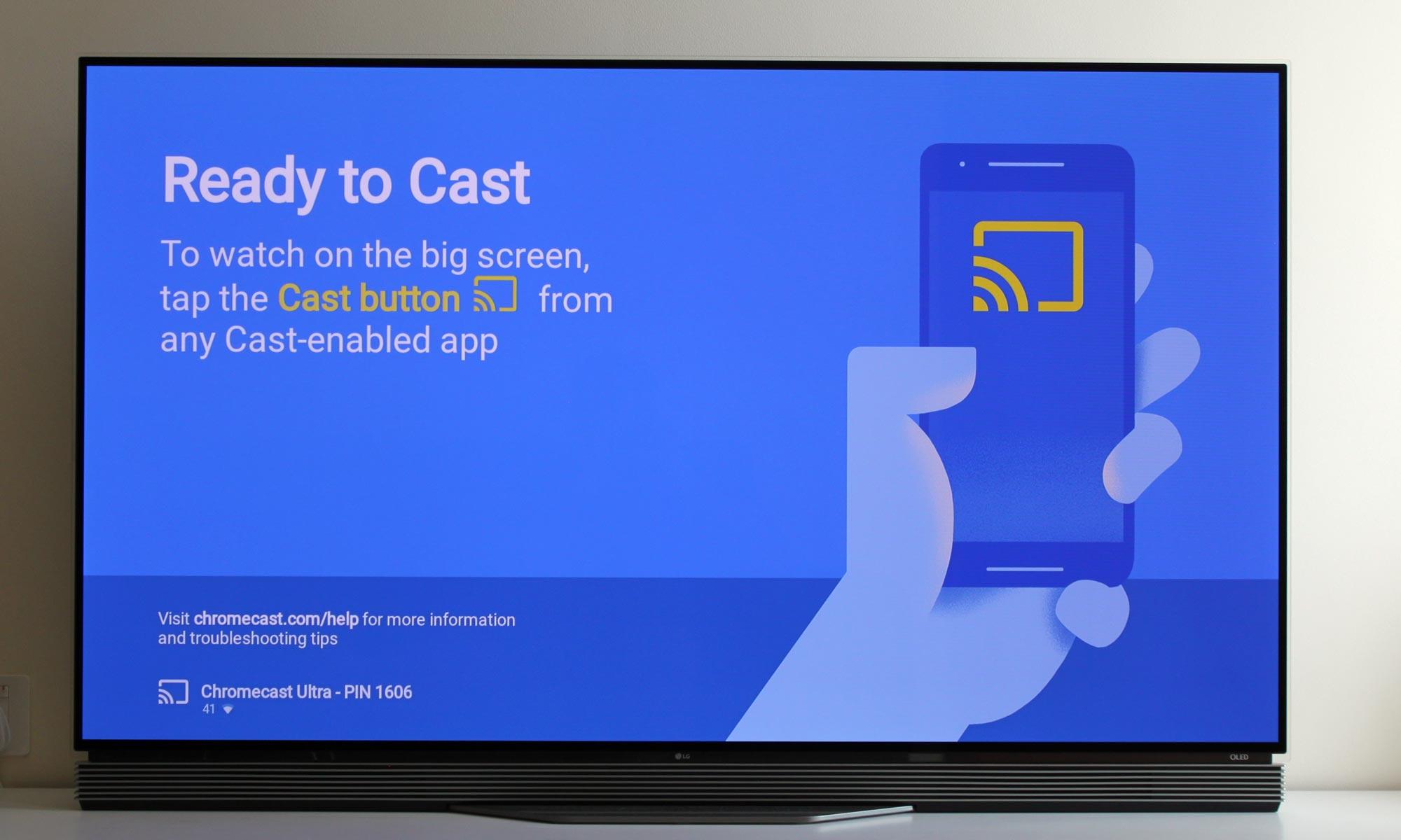 Tilslut iPhone til Chromecast