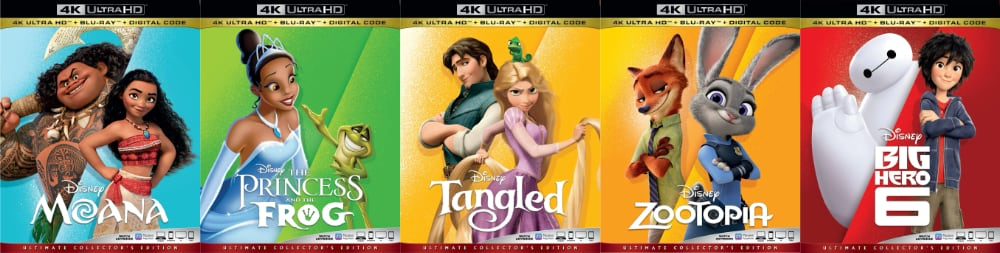 Disney UHD Blu-ray