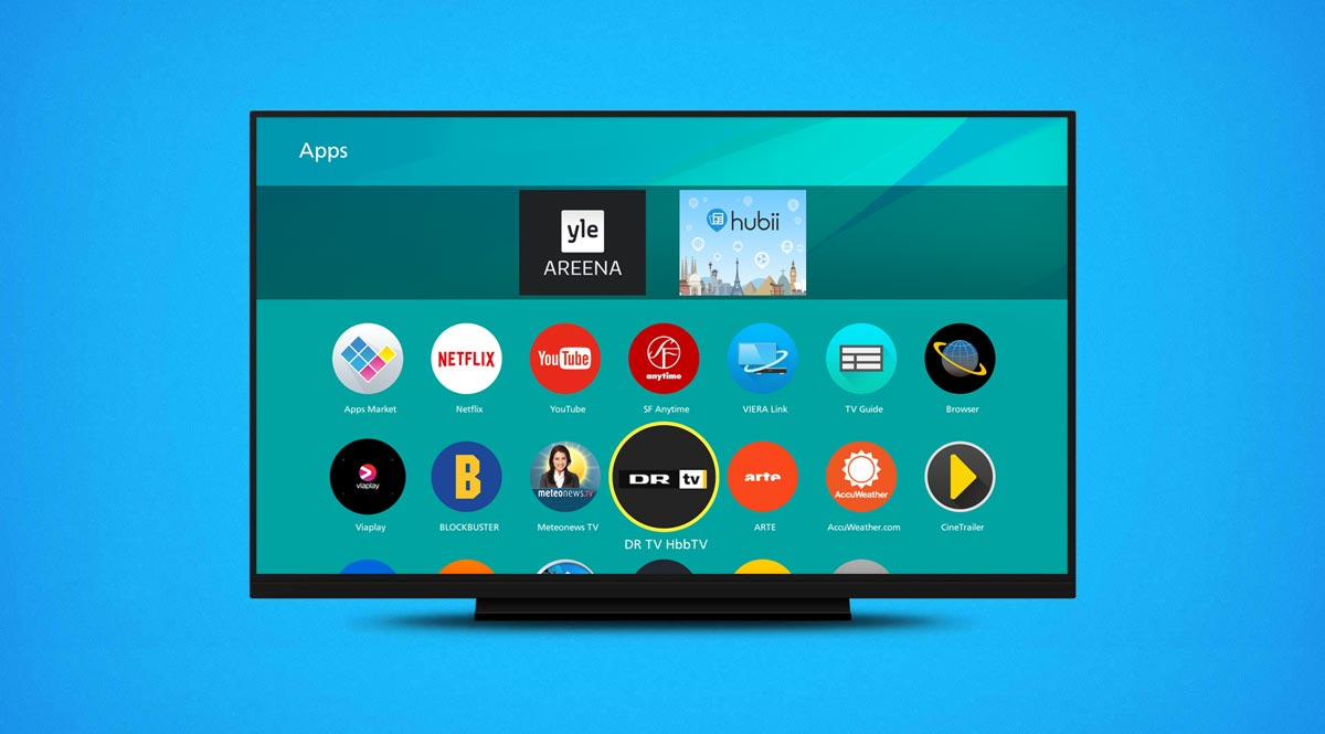 dr tv app klar p panasonic smart tv flatpanelsdk. Black Bedroom Furniture Sets. Home Design Ideas