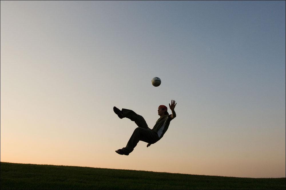 Første tilbagemeldinger på fodbold i 3d