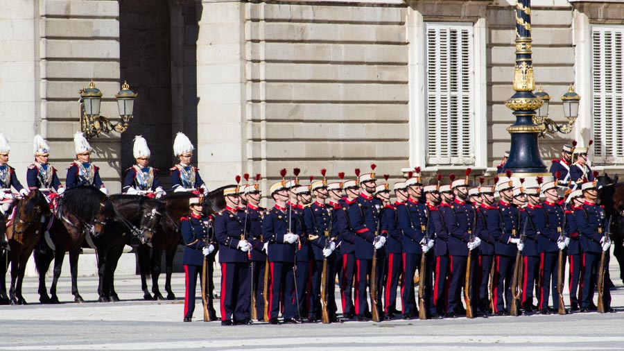 Solemn Changing of the Guard ceremony