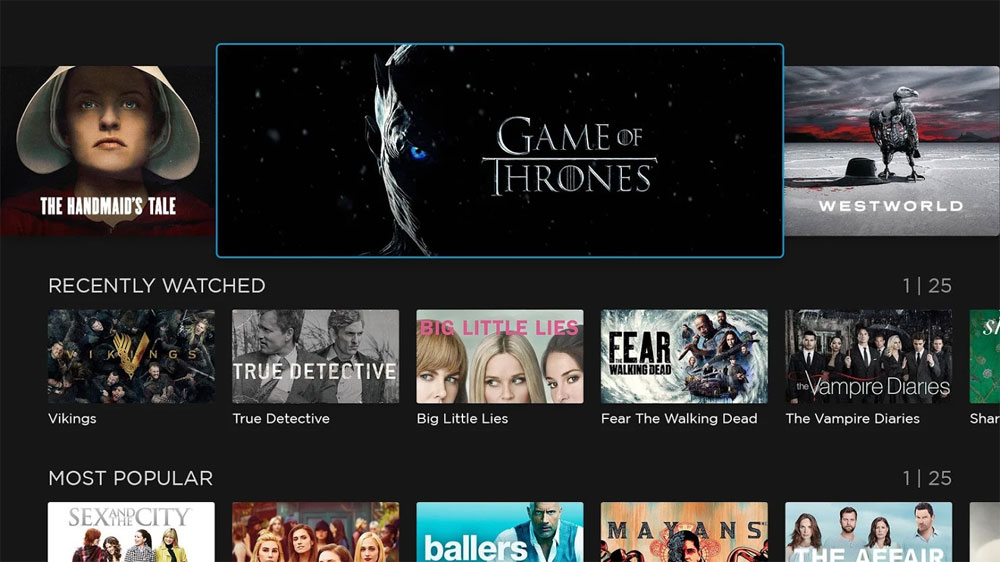 HBO Nordic Android TV