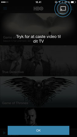 HBO Nordic klar med 1080p, Chromecast & fuld Airplay - FlatpanelsDK