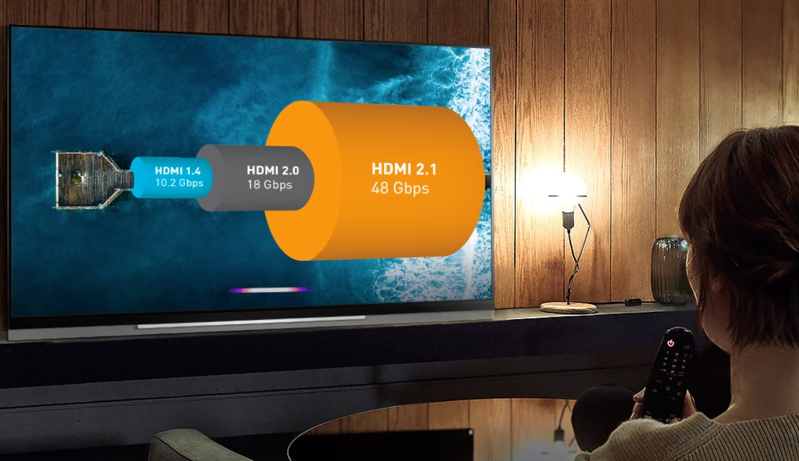 TV med HDMI 2.1