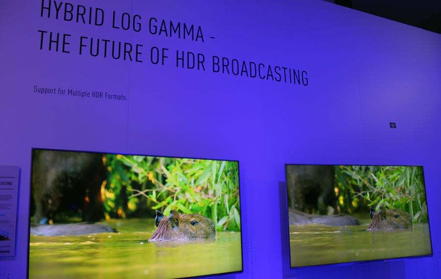 HLG on Panasonic TV