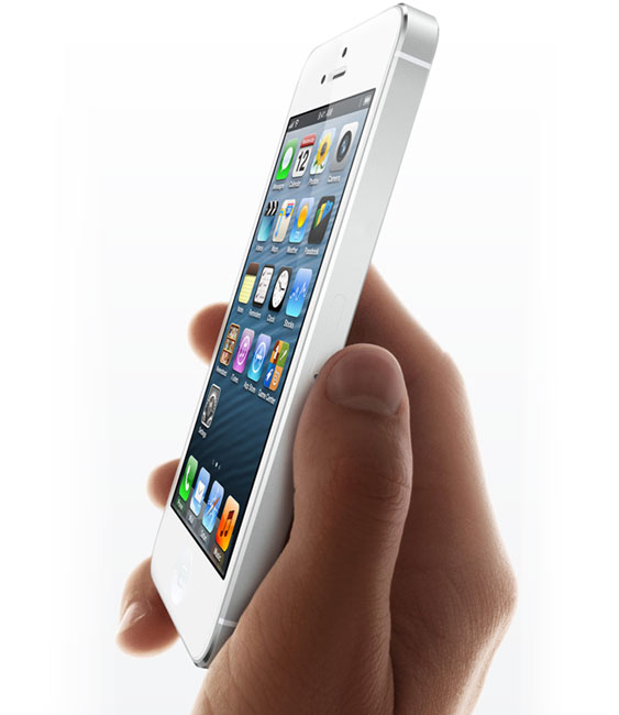 iPhone 5 bruger in-cell touch-teknologi