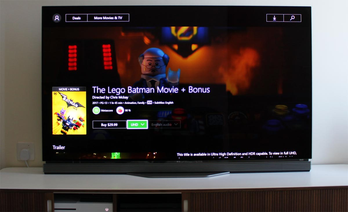 Lego Batman i 4K HDR på Xbox One