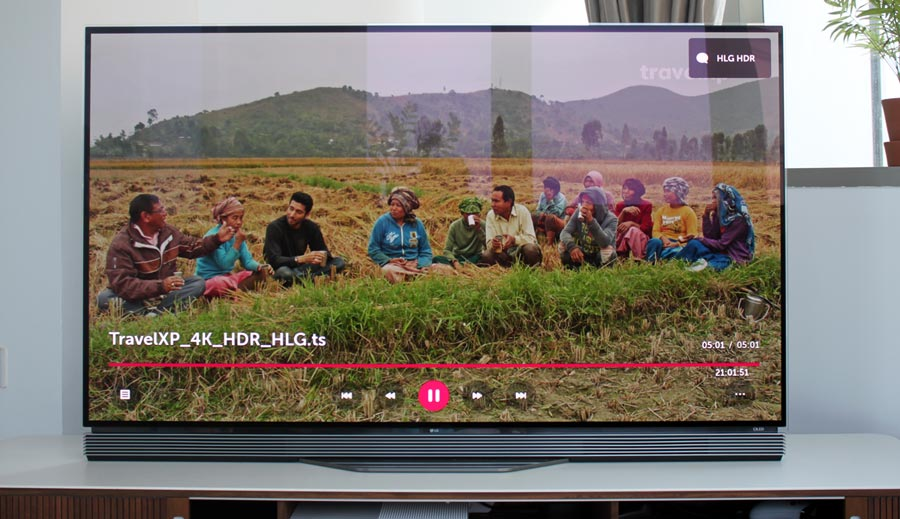HLG HDR on 2016 OLED