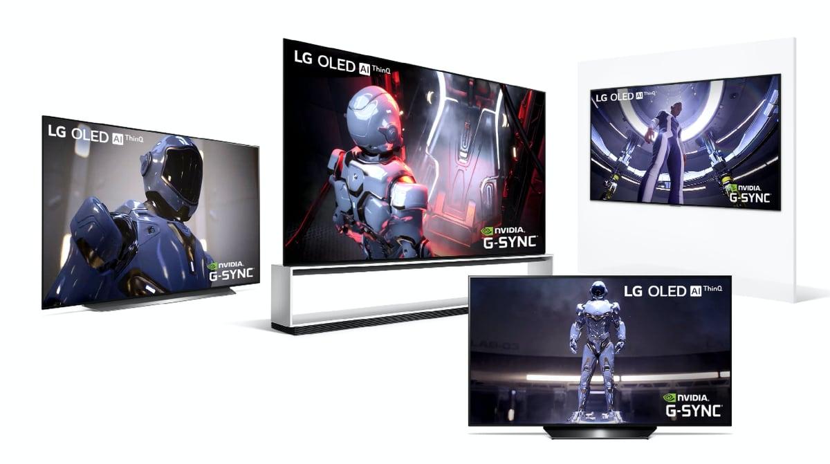 LG 2020 G-Sync OLED TVs