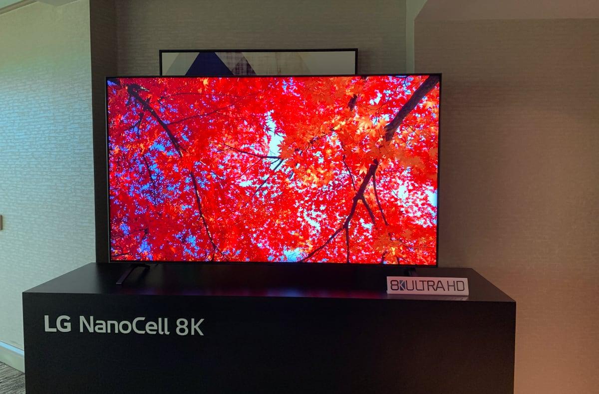 LG 2020 8K NanoCell LCD TV