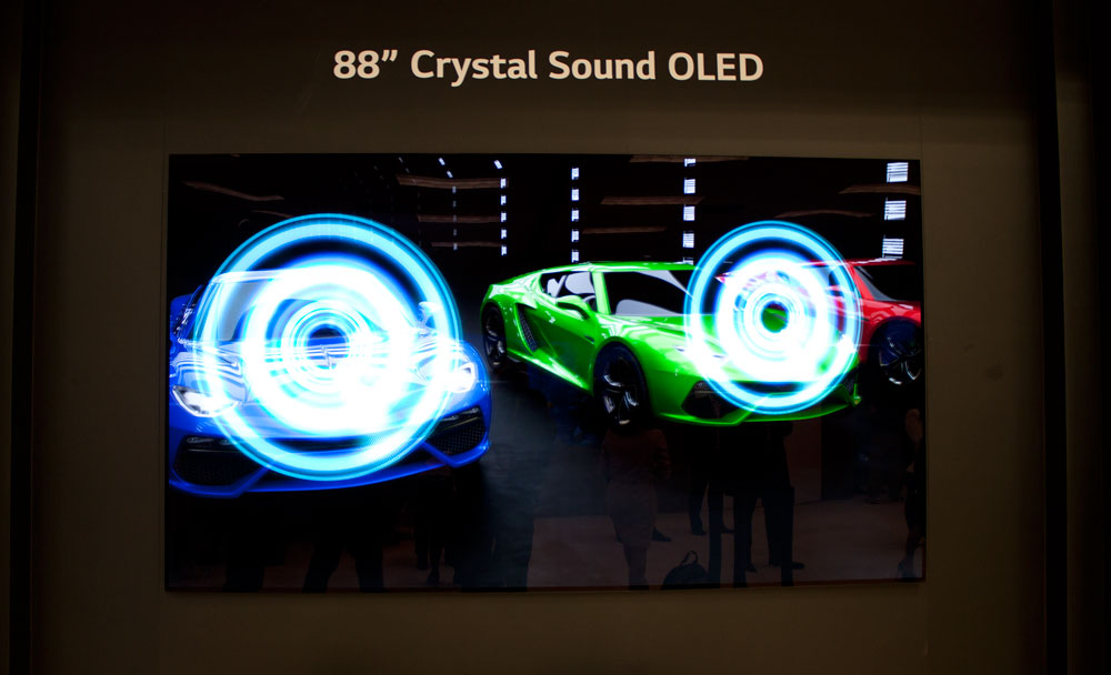 LG Display 88-inch OLED with Dolby Atmos