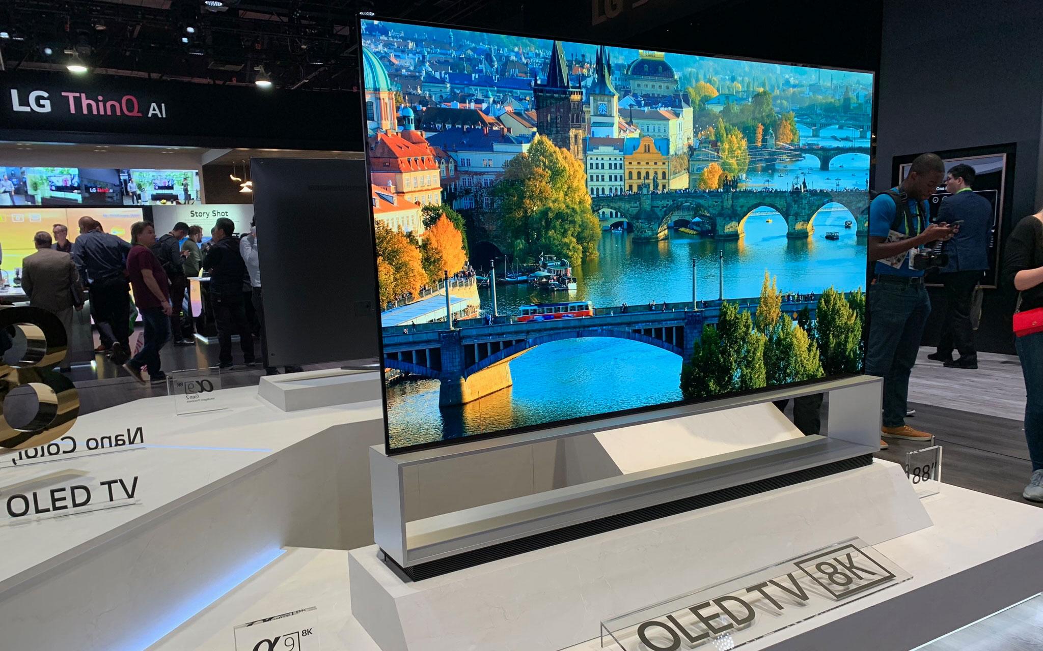 Afholte Første indtryk: 2019 LG 4K & 8K OLED TV - FlatpanelsDK SC-07
