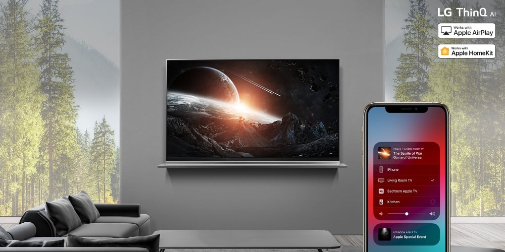 LG TV - AirPlay 2 og HomeKit