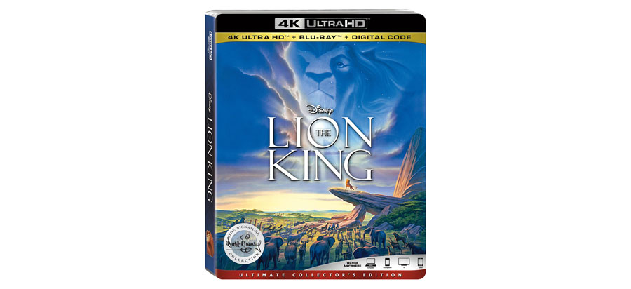 The Lion King UHD Blu-ray