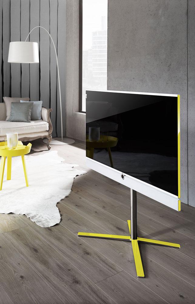 loewe lancerer individual slim frame tv flatpanelsdk. Black Bedroom Furniture Sets. Home Design Ideas