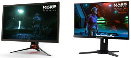 Asus Acer HDR-monitors
