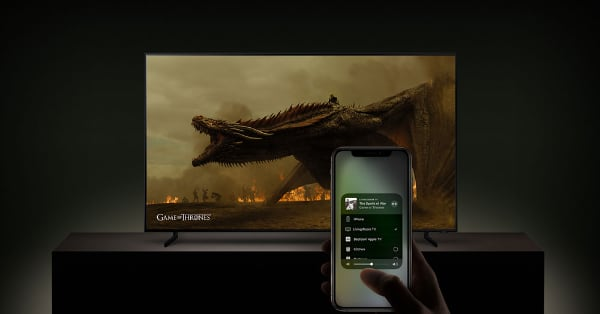 TV med AirPlay 2