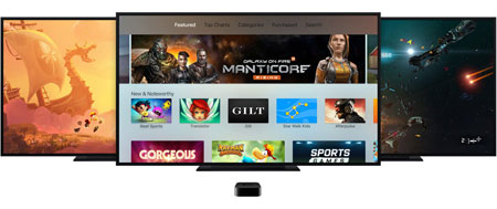 Apps og spil Apple TV