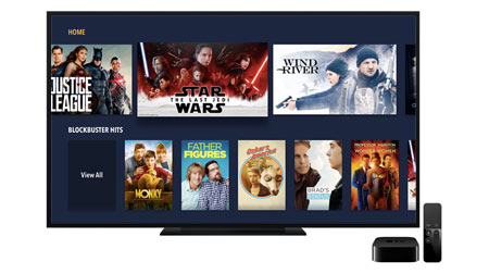 Blockbuster Apple TV