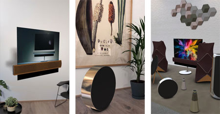 Bang Olufsen AR Experience