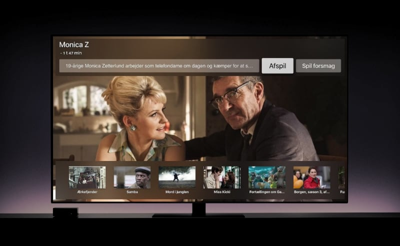 Filmstriben Apple TV