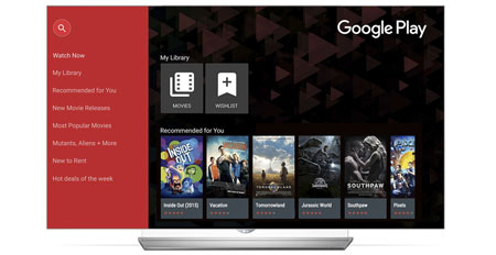 Google Play LG Smart TV