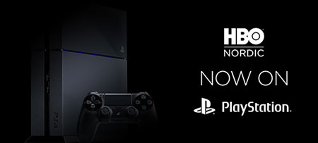 HBO Nordic PlayStation