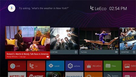 LeEco Android TV