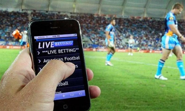 Live betting TV