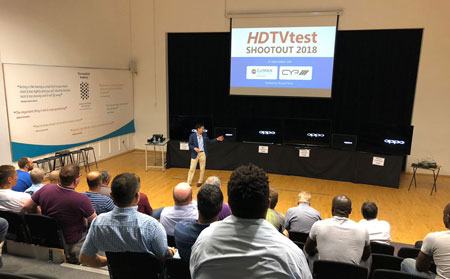 HDTVTest 2018 TV Shootout