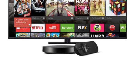 Nexus Player med Android TV test