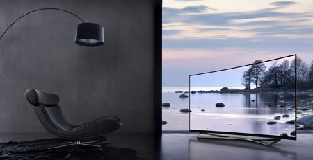 Panasonic OLED test