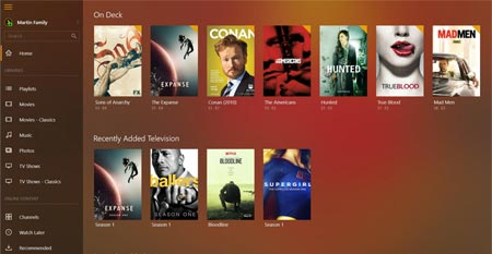 Plex Windows 10