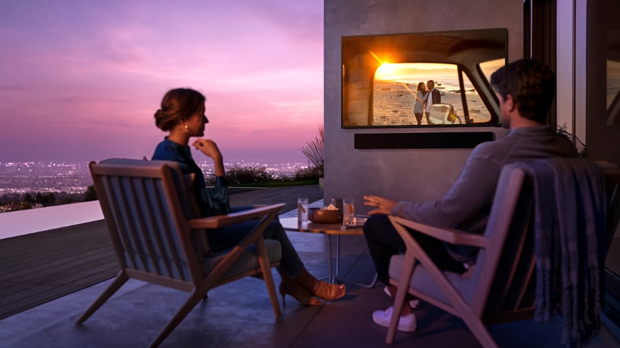 Samsung The Terrace TV