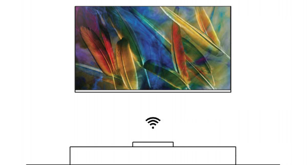 Samsung wireless TV