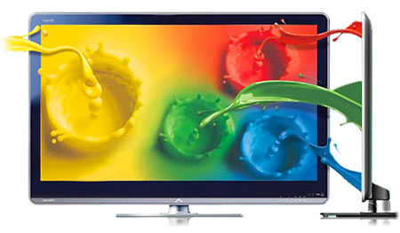 Sharp 2010 tv