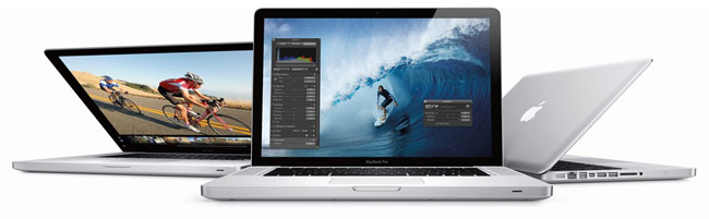 Retina displays on Macbook Pros