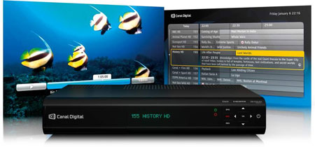 Canal Digital HD Entertain Center modtaget