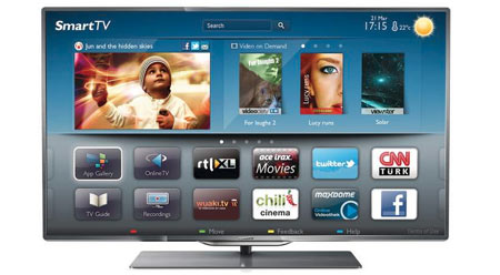 Philips 2012 tv i handlen
