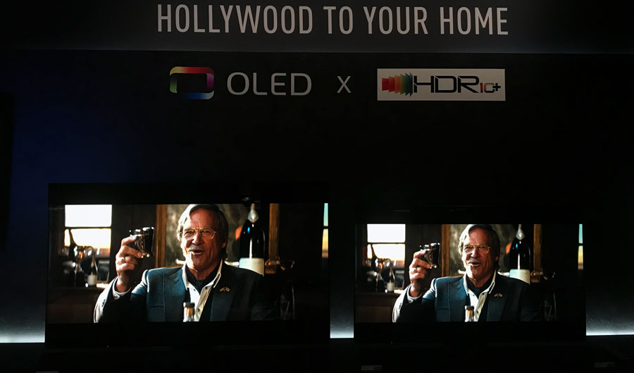 Panasonic 2018 OLED vs. 2017 OLED