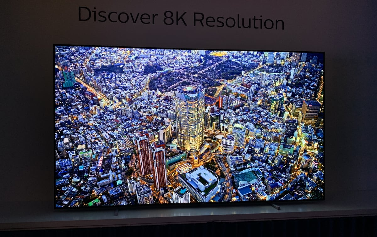 Philips 8K OLED TV