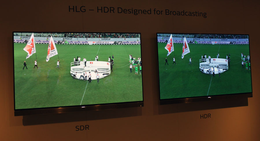 Philips HLG HDR